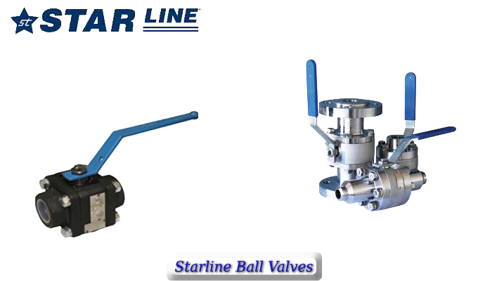 starline ball valves
